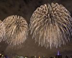 7月4日美国独立日,烟花节。(张学慧/大纪元)