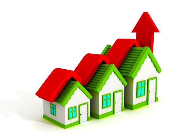 房地產公司RealtyTrac 7月8日的報告發現,美國有66%的縣買房比租房成本還低,今年1~5月全美買房(3房)來租賃的潛在租金總收益增長了8.94%。(Fotolia)