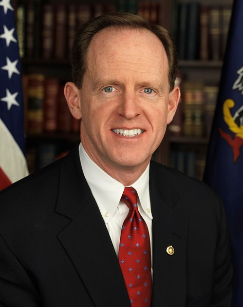 美國賓夕法尼亞州聯邦參議員帕特里克‧圖米(Patrick J. Toomey)(網絡圖片)