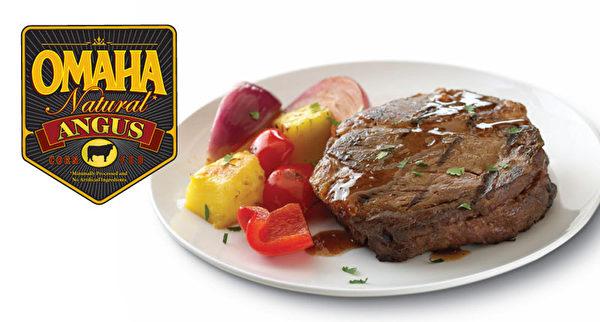 """""""钟路商会""""法拉盛店内的肉品全部都是经美国USDA认证的Greater OMAHA产品。(张学慧/大纪元)"""