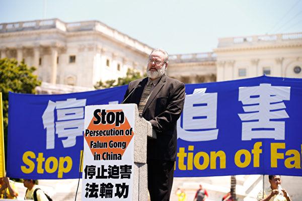 宗教自由大同盟主席Dan Fefferman。(戴兵/大紀元)