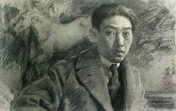 2015年7月19日,是現代中國繪畫之父徐悲鴻誕辰120週年紀念日。他是中國傑出的畫家和美術教育家。他常畫的奔馬、雄獅、晨雞等,給人以生機和力量,表現了令人振奮的積極精神。圖為徐悲鴻自畫像。(網絡圖片)