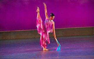 戴家容(Melody Tai)表演舞蹈。(戴家容提供)