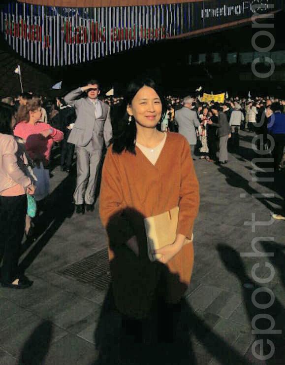 前《羊城晚报》美术编辑黄于杨。(本人提供)