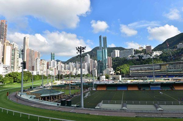 香港跑馬地馬場(郭威利/大紀元)