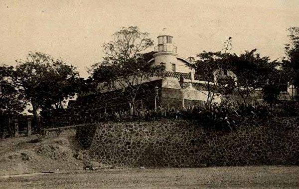 热兰遮城遗址,改为安平税关支署长的宿舍。 (图片提供:tony)