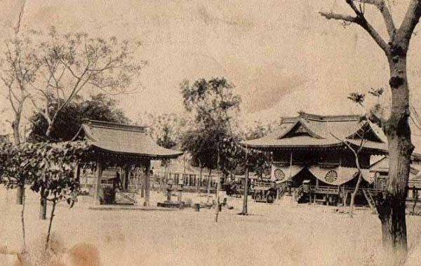 北白川宫神社御遗迹。后来日本将此地拓建为台南神社(今台南市公十一停车场)(图片提供:tony)
