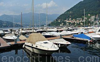 意大利科莫湖(Lago di Como)的美麗景色。(蕭依然/大紀元)