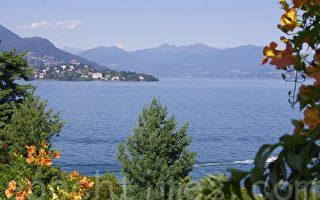 意大利美麗島(Isola Bella)的優美景色。(蕭依然/大紀元)