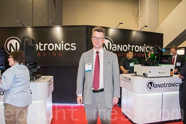 Nanotronics Imaging公司總裁Mathew Putman。(瑞晨/大紀元)