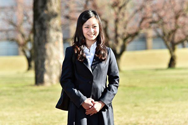 今年4月2日,佳子公主抵达国际基督教大学。(YOSHIKAZU TSUNO/AFP/Getty Images)