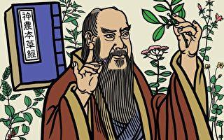 神农氏尝遍百草,最终找出了365种药材,可以治病。他来人世间为中国人建立了相当完整的医药基础,后世几千年来中药发展,都是建立在《神农本草经》的基础上。(大纪元插图)