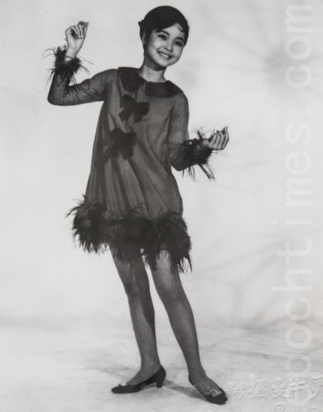 1968年,鄧麗君已是青春洋溢的娃娃歌后。(翻攝:陳柏州/大紀元)