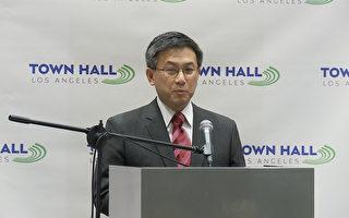 江俊辉参选 有望成为加州首任华裔州长