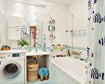浴室应随时保持干爽维持清洁卫生。(Fotolia)