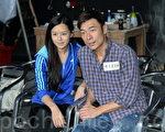 许志安和文咏珊再次合作。(宋祥龙/大纪元)