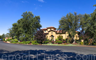 令完成在北加州的一处豪宅的外景。(大纪元图片)