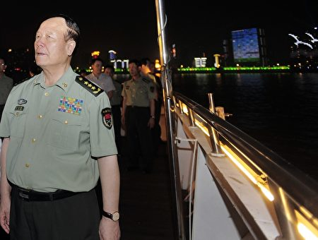郭伯雄在湖北武漢。(STR/AFP/Getty Images)