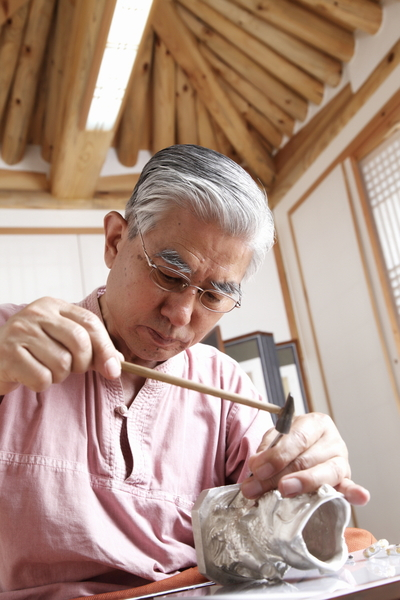 韓國珠寶界名匠李政勳。(圖片由本人提供)