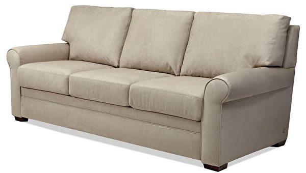American Leather推出的沙发床Comfort Sleeper系列。(Giorgi Bros.家具提供)
