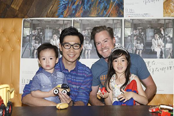 两家人将一起看品冠(左)台北演唱会,图右为黄嘉千老公夏立克。(种子音乐提供)