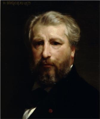 布格羅自畫像,1879年,蒙特利爾藝術博物館藏。(Art Renewal Center提供)