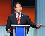 前总统参选人,佛州参议员马可.卢比奥(Mark Rubio)22日宣布他将会重新竞选佛州参议员的席位。(Scott Olson/Getty Images)