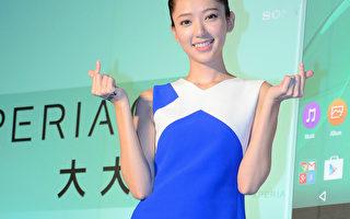 郭雪芙在台北出席活動。(方惠萱/大紀元)
