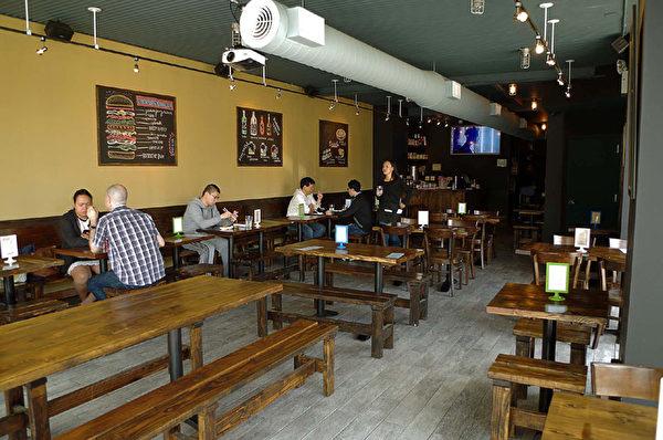 温馨安静的Mokja餐厅。(图:Mokja提供)