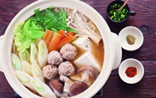 降血糖速效饮食:芝麻味噌鸡肉丸子锅
