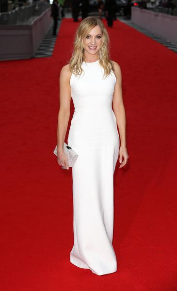 2015年8月11日,扮演女仆领班的琼安‧弗洛加特于BAFTA颁奖礼。(Tim P. Whitby/Getty Images)