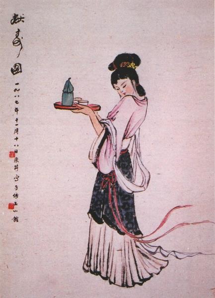 《獻壽圖》(章翠英/大紀元)