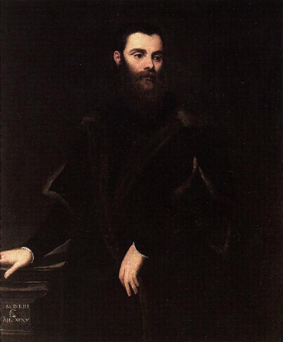 圖6:[意]丁托列托(Tintoretto),《洛倫佐‧索蘭佐總督》( Doge Lorenzo Soranzo),1533年作。(Art Renewal Center提供)