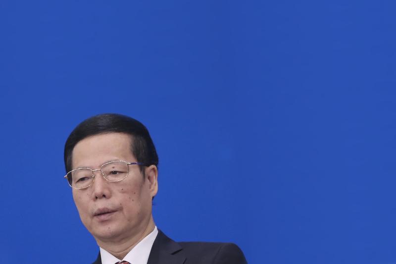 """滨海新区是时任天津市委书记张高丽的主要""""政绩""""。天津大爆炸后,陆媒问责,称天津港、滨海新区规划混乱、不科学。 (Feng Li/Getty Images)"""