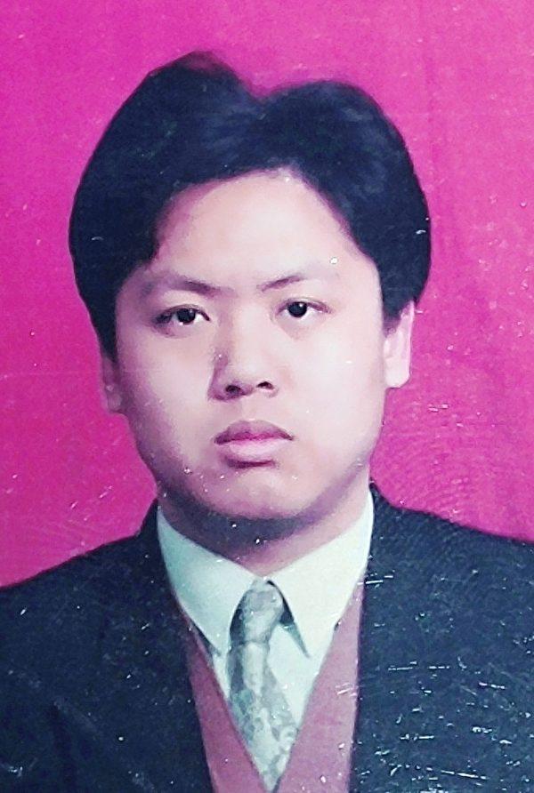 何欣的丈夫、法轮功学员李上荣(已被迫害致死)。(明慧网)