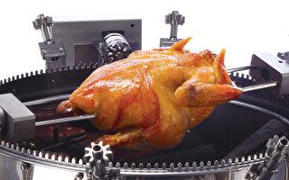 夯伯烤炉烤全鸡。(图:顶善集团提供)