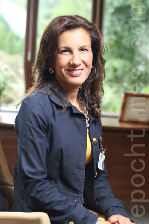 帕克企業推廣和發展總監Lina Scacco (張學慧/大紀元)