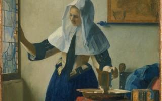 我们不见得全都想法一致,但多数人在看到维米尔、伦勃朗、卡拉瓦乔、阿尔玛―塔德玛和布格罗的画作时,一眼就能看到其价值。图为:[尼德兰]维米尔(Johannes Vermeer,1632—1675),《拿水罐的少妇》(Young Woman with a Water Pitcher),纽约大都会艺术博物馆藏。(艺术复兴中心提供)