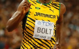 田径世锦赛 博尔特200米四连冠