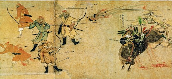 蒙古人像是来自银河的勇士,所向披靡,几乎战无不胜。(维基百科公有领域)