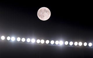 超级月亮照亮8月天宇 社交媒体分享美景