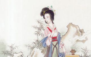 杜秋娘嬌鶯一般的歌聲,吟唱著當朝最為流行的樂府詩,眼波流轉處,流露出似有還無的溫柔。(大紀元資料圖片)