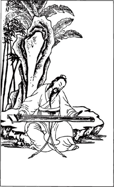 「獨坐幽篁裡,彈琴復長嘯。深林人不知,明月來相照。」(大紀元資料圖片)