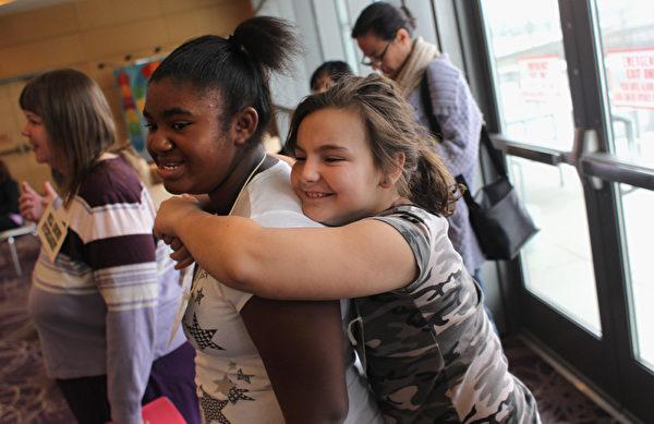 非营利组织Trust for America's Health 发现,加州孩子特别是幼童,却比其它州的孩子更容易肥胖。(John Moore/Getty Images)