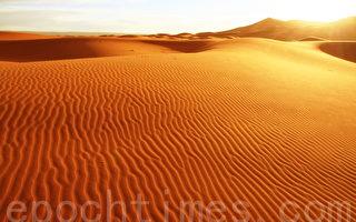 撒哈拉大漠舞日 绝色地景
