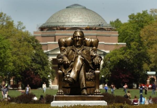 杜克大学(Duke University)。(Sara D. Davis/Getty Images)