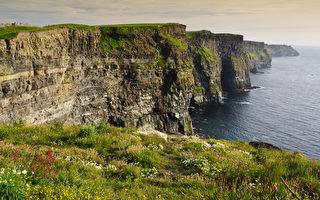 惊人的美景  爱尔兰莫赫悬崖
