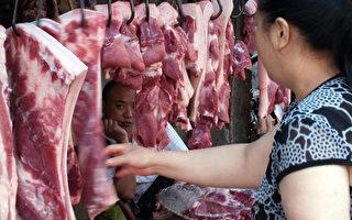 受非洲猪瘟的影响,猪肉价格同比翻倍。(AFP )