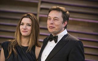 伊隆·马斯克(Elon Musk)是paypal贝宝(最大的网上支付公司)、SpaceX空间探索技术公司、特斯拉汽车以及SolarCity四家公司的CEO。图为马斯克和太太。(ADRIAN SANCHEZ-GONZALEZ/AFP)