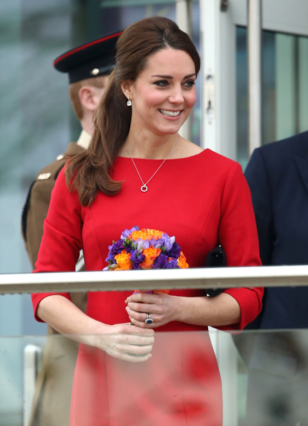 2014年10月25日,英國諾里奇(NORWICH),凱特王妃應邀參加當地的慈善活動。(Chris Jackson/Getty Images)